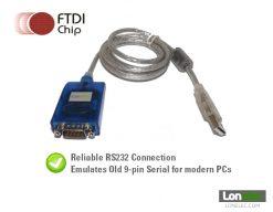 FTDI Serial 9 Pin Sipex RS232 Emulation