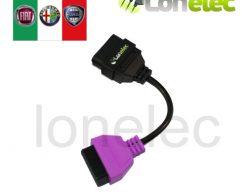 MultiECUScan Purple Adaptor Electric Hood Diagnostics