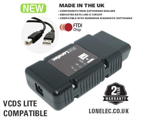 Professional KKL Interface Cable Lead for VAG-COM VCDS Lite