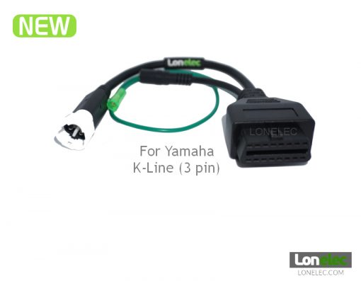 Yamaha 3 Pin Flashing OBD Adaptor Cable