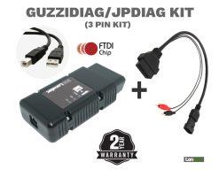 Guzzidiag TuneECU Remapping Diagnostics Professional Cable Lead Kit