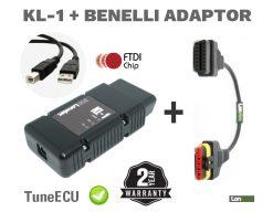 Aprilia Futura Caponord Diagnostics Remapping TuneECU Best Cable Kit