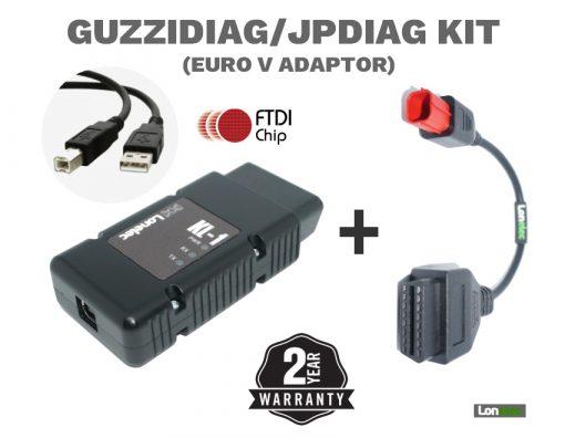 Quality Guzzidiag Cable Lead Set Euro V