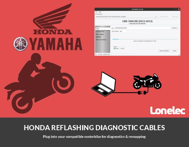 Honda Bike Flashing & Diagnostics